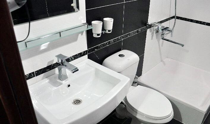 Гостиница Хан Коканд ванная