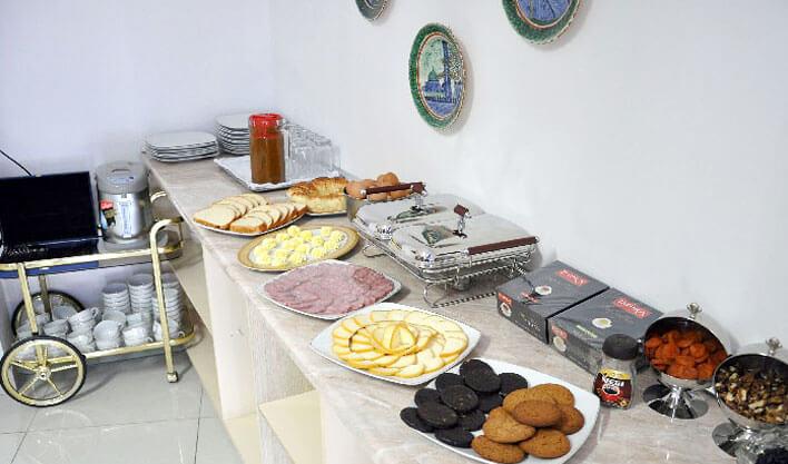 Гостиница Хан Коканд завтрак