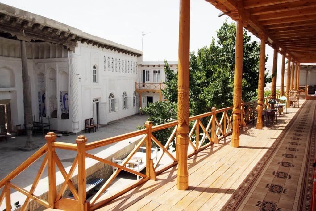 Гостиница Ховли Поён Бухара двор 10