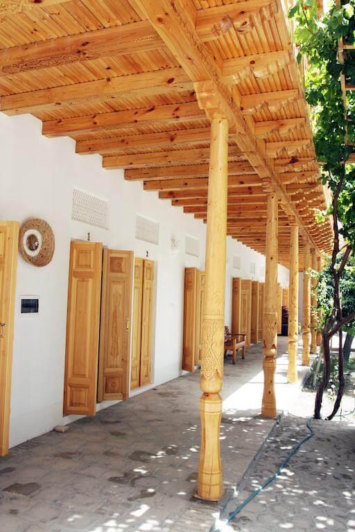 Гостиница Ховли Поён Бухара двор 8