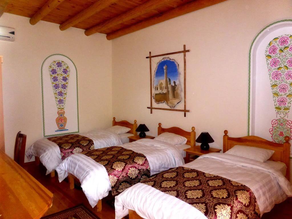 Гостиница Ховли Поён Бухара трипл 2