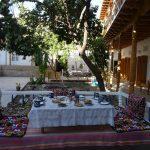 Гостиница Ховли Поён Бухара завтрак