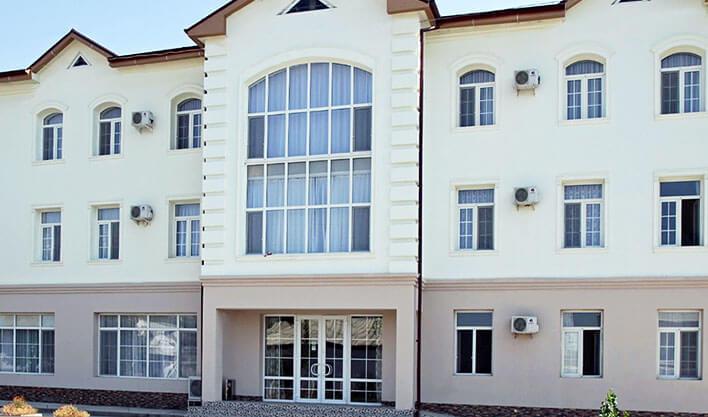 Гостиница Жипек Жоли Нукус фасад 3