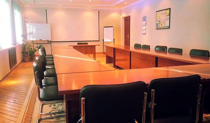 Гостиница Жипек Жоли Нукус конференционный зал