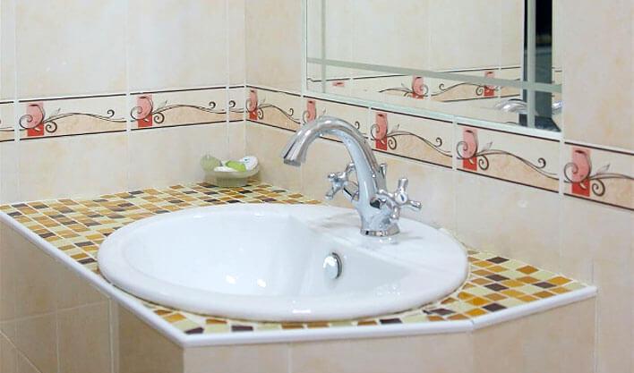 Гостиница Жипек Жоли Нукус ванная 1