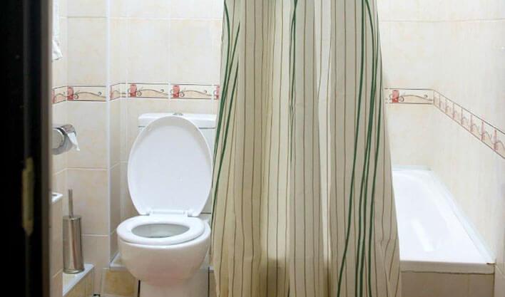 Гостиница Жипек Жоли Нукус ванная 2