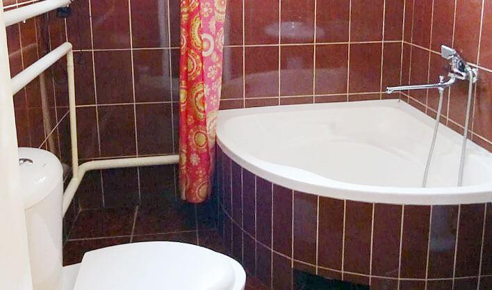 Гостиница Жипек Жоли Нукус ванная 3