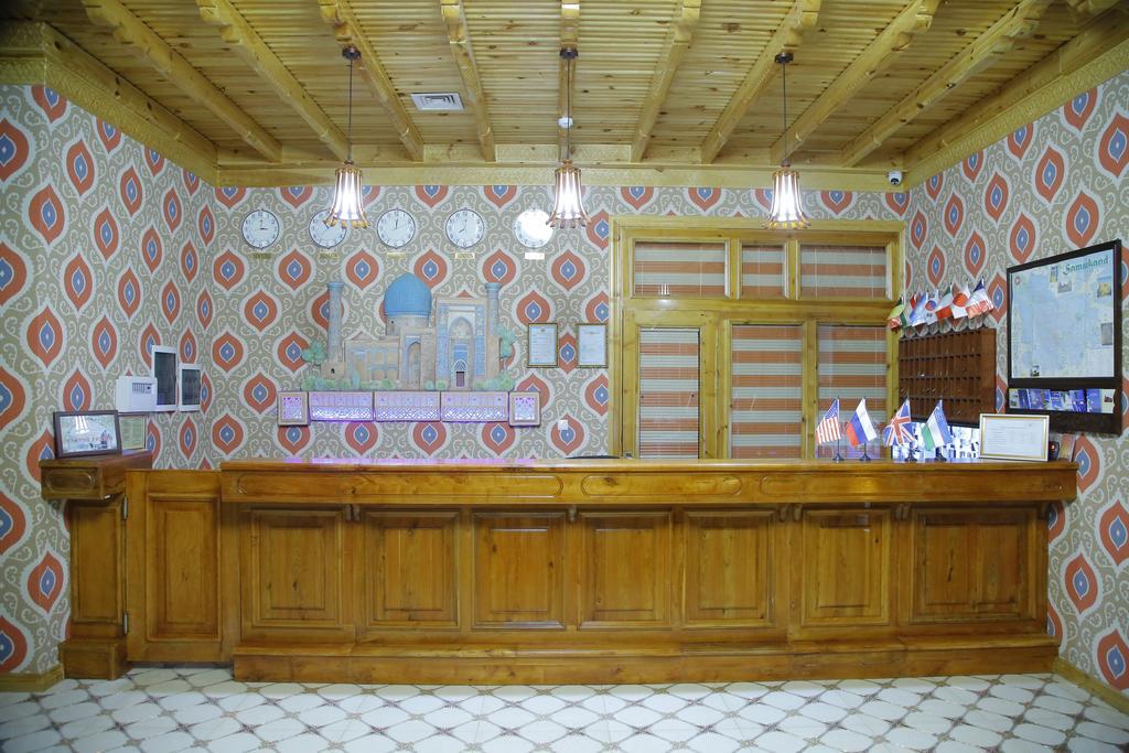 Гостиница Зилол Бахт Самарканд ресепшн 1