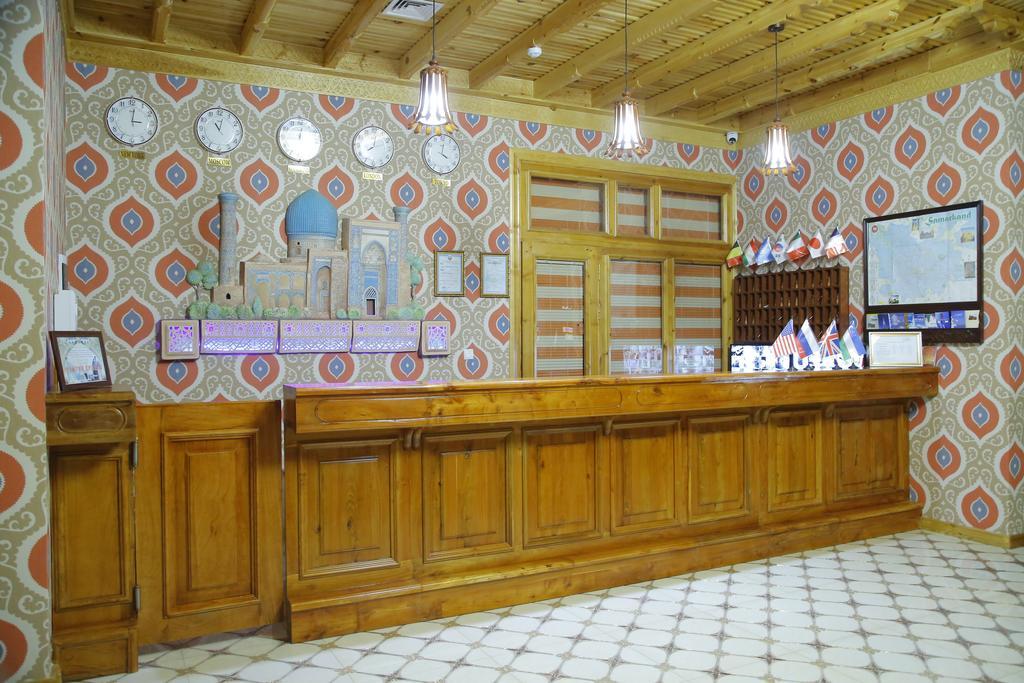 Гостиница Зилол Бахт Самарканд ресепшн 2