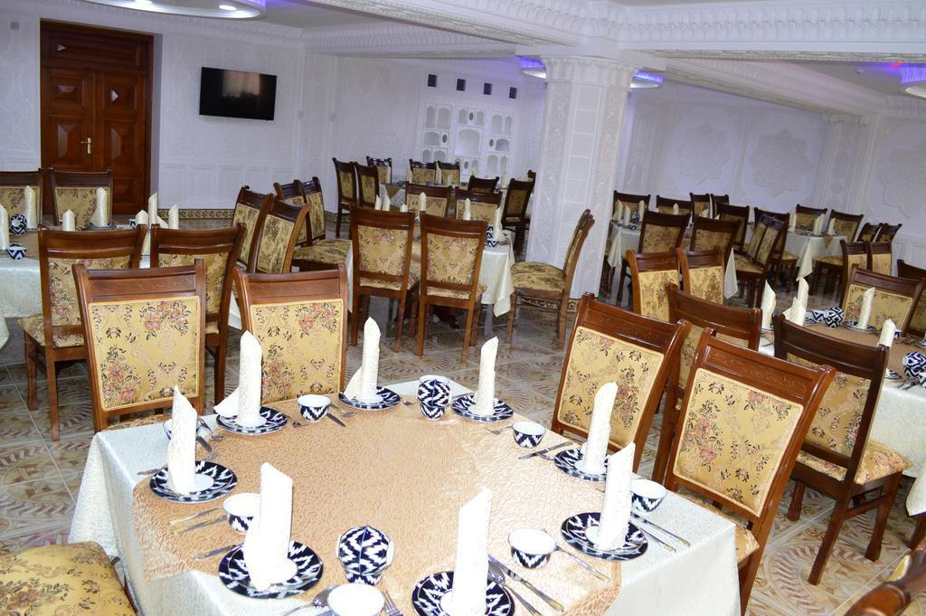 Гостиница Зилол Бахт Самарканд ресторан 1