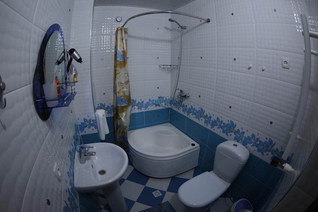 Гостиница Зилол Бахт Самарканд ванная 2
