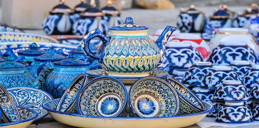 чайник узбекский